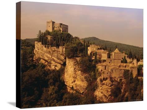 Roman-Medieval Town of Vaison-La-Romaine, Vaucluse Region, France-Duncan Maxwell-Stretched Canvas Print