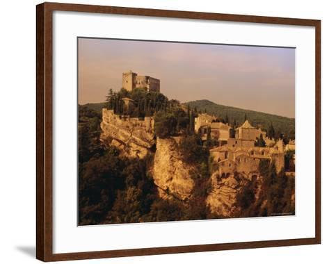 Roman-Medieval Town of Vaison-La-Romaine, Vaucluse Region, France-Duncan Maxwell-Framed Art Print