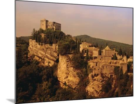 Roman-Medieval Town of Vaison-La-Romaine, Vaucluse Region, France-Duncan Maxwell-Mounted Photographic Print