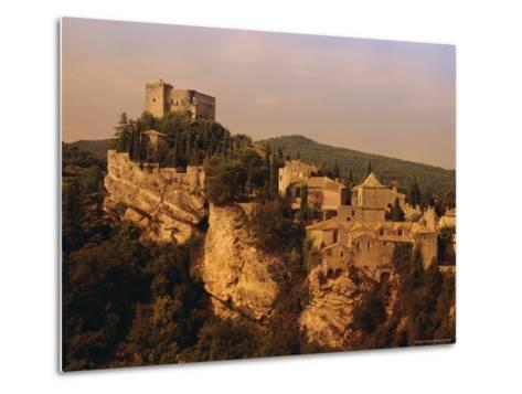 Roman-Medieval Town of Vaison-La-Romaine, Vaucluse Region, France-Duncan Maxwell-Metal Print