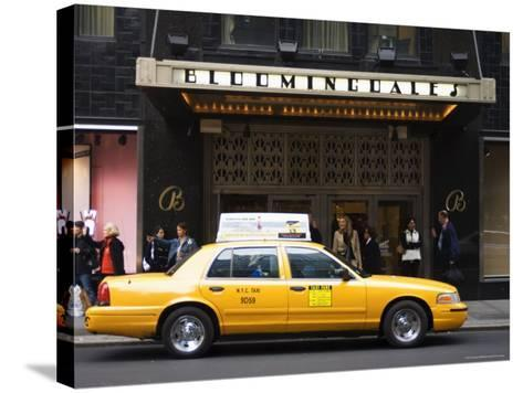 Bloomingdale's Department Store, Lexington Avenue, Manhattan, New York-Amanda Hall-Stretched Canvas Print