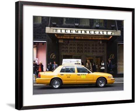 Bloomingdale's Department Store, Lexington Avenue, Manhattan, New York-Amanda Hall-Framed Art Print