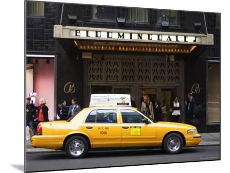 Bloomingdale's Department Store, Lexington Avenue, Manhattan, New York-Amanda Hall-Mounted Photographic Print