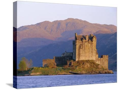 Eilean Donan Ieilean Donnan) Castle Built in 1230, Dornie, Scotland-Lousie Murray-Stretched Canvas Print