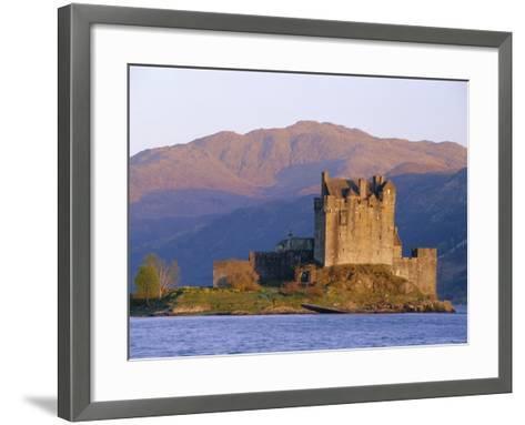 Eilean Donan Ieilean Donnan) Castle Built in 1230, Dornie, Scotland-Lousie Murray-Framed Art Print