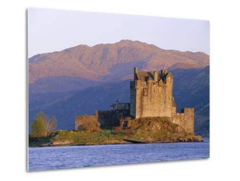 Eilean Donan Ieilean Donnan) Castle Built in 1230, Dornie, Scotland-Lousie Murray-Metal Print