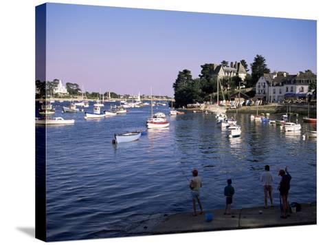 Benodet, Brittany, France-J Lightfoot-Stretched Canvas Print