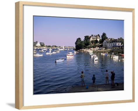 Benodet, Brittany, France-J Lightfoot-Framed Art Print
