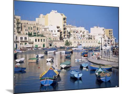St. Julians Bay, Malta, Mediterranean-J Lightfoot-Mounted Photographic Print