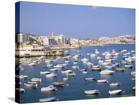 St. Paul's Bay, Island of Malta, Mediterranean-J Lightfoot-Stretched Canvas Print