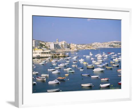 St. Paul's Bay, Island of Malta, Mediterranean-J Lightfoot-Framed Art Print