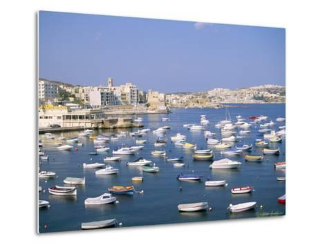 St. Paul's Bay, Island of Malta, Mediterranean-J Lightfoot-Metal Print