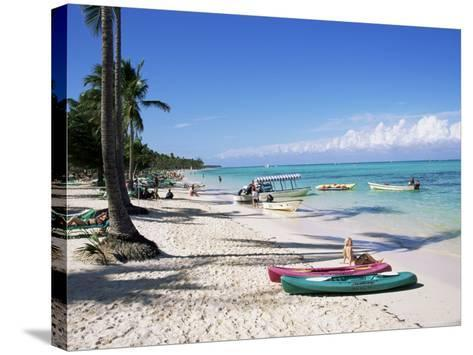 Bavaro, Dominican Republic, West Indies, Central America-J Lightfoot-Stretched Canvas Print