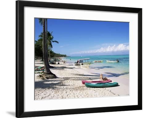 Bavaro, Dominican Republic, West Indies, Central America-J Lightfoot-Framed Art Print