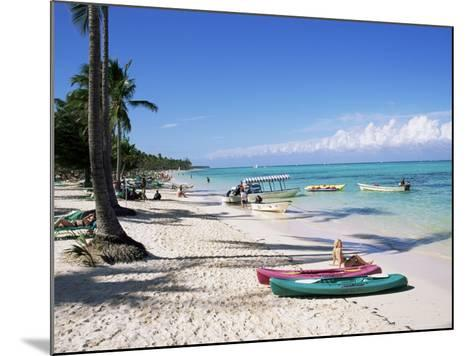 Bavaro, Dominican Republic, West Indies, Central America-J Lightfoot-Mounted Photographic Print