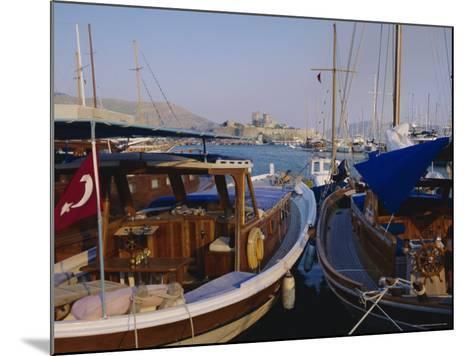 The Harbour, Bodrum, Anatolia, Turkey-J Lightfoot-Mounted Photographic Print