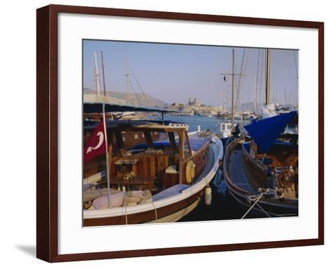 The Harbour, Bodrum, Anatolia, Turkey-J Lightfoot-Framed Art Print