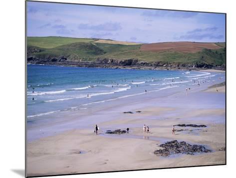 Pentire Point, Polzeath, Cornwall, England, United Kingdom-J Lightfoot-Mounted Photographic Print