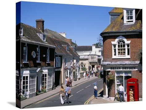 West Borough, Wimborne, Dorset, England, United Kingdom-J Lightfoot-Stretched Canvas Print