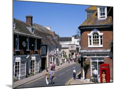 West Borough, Wimborne, Dorset, England, United Kingdom-J Lightfoot-Mounted Photographic Print