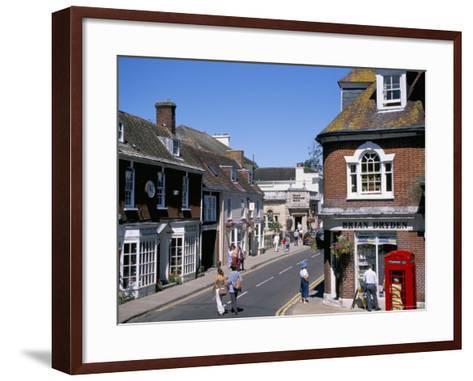 West Borough, Wimborne, Dorset, England, United Kingdom-J Lightfoot-Framed Art Print
