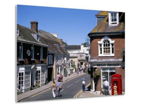 West Borough, Wimborne, Dorset, England, United Kingdom-J Lightfoot-Metal Print