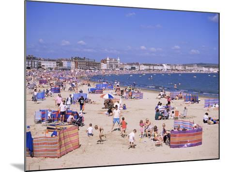 The Beach, Weymouth, Dorset, England, United Kingdom-J Lightfoot-Mounted Photographic Print