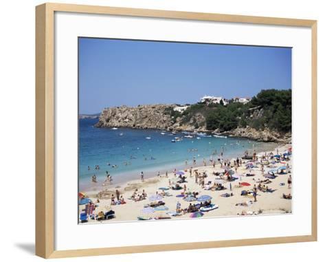 Arenal d'En Castell, Menorca, Balearic Islands, Spain, Mediterranean-J Lightfoot-Framed Art Print