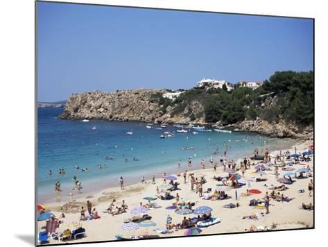 Arenal d'En Castell, Menorca, Balearic Islands, Spain, Mediterranean-J Lightfoot-Mounted Photographic Print