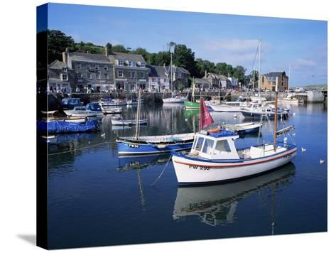 Padstow Harbour, Cornwall, United Kingdom-Roy Rainford-Stretched Canvas Print
