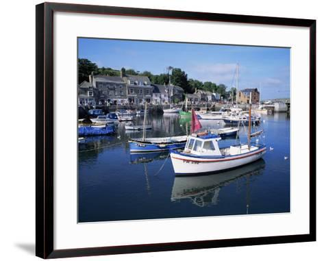 Padstow Harbour, Cornwall, United Kingdom-Roy Rainford-Framed Art Print
