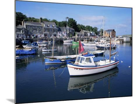 Padstow Harbour, Cornwall, United Kingdom-Roy Rainford-Mounted Photographic Print