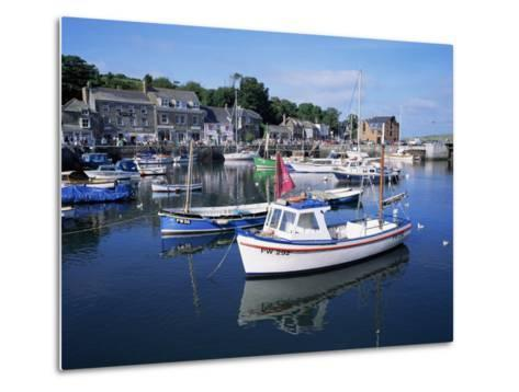 Padstow Harbour, Cornwall, United Kingdom-Roy Rainford-Metal Print