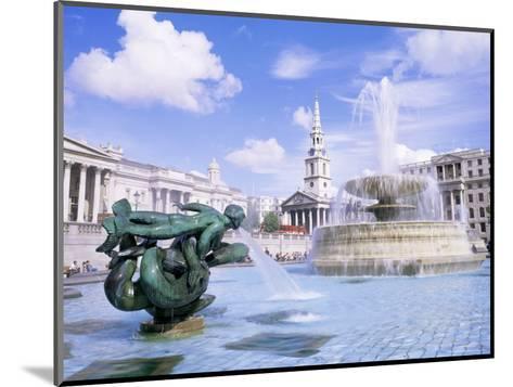 Trafalgar Square, London, England, United Kingdom-Roy Rainford-Mounted Photographic Print