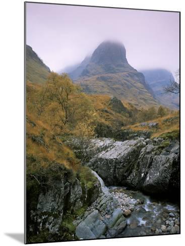 The Three Sisters, Glencoe, Highland Region, Scotland, United Kingdom-Roy Rainford-Mounted Photographic Print