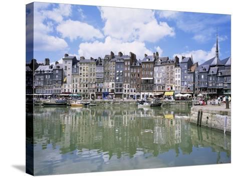 Honfleur, Basse Normandie (Normandy), France-Roy Rainford-Stretched Canvas Print