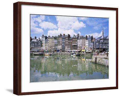 Honfleur, Basse Normandie (Normandy), France-Roy Rainford-Framed Art Print