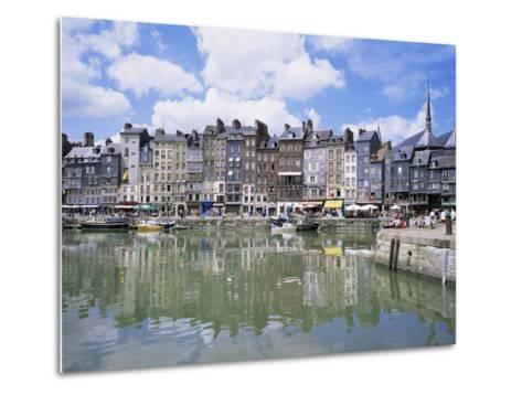 Honfleur, Basse Normandie (Normandy), France-Roy Rainford-Metal Print