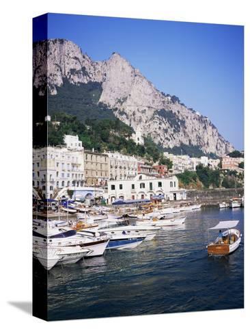 Marina Grande, Island of Capri, Campania, Italy, Mediterranean-Roy Rainford-Stretched Canvas Print