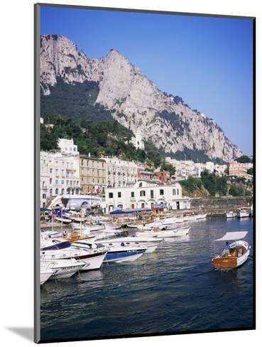 Marina Grande, Island of Capri, Campania, Italy, Mediterranean-Roy Rainford-Mounted Photographic Print