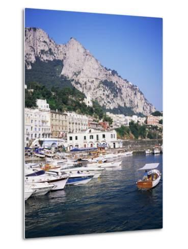Marina Grande, Island of Capri, Campania, Italy, Mediterranean-Roy Rainford-Metal Print