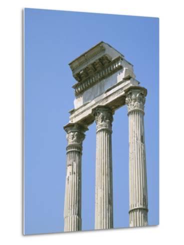 The Forum, Rome, Lazio, Italy-Roy Rainford-Metal Print