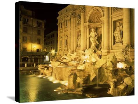 Trevi Fountain, Rome, Lazio, Italy-Roy Rainford-Stretched Canvas Print