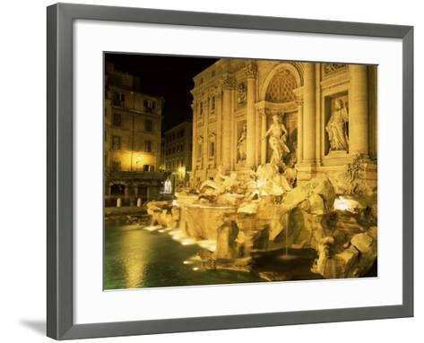 Trevi Fountain, Rome, Lazio, Italy-Roy Rainford-Framed Art Print