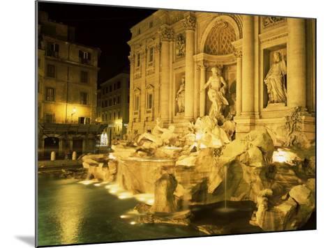 Trevi Fountain, Rome, Lazio, Italy-Roy Rainford-Mounted Photographic Print