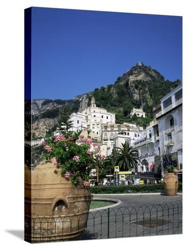 Amalfi, Costiera Amalfitana, Amalfi Coast, Campania, Italy-Roy Rainford-Stretched Canvas Print