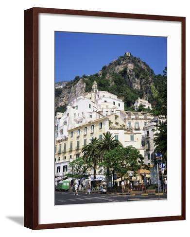 Amalfi, Costiera Amalfitana, Amalfi Coast, Campania, Italy-Roy Rainford-Framed Art Print