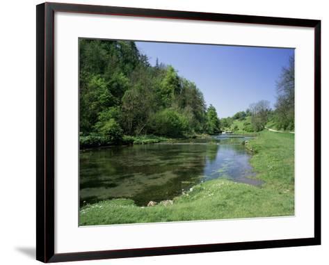 Lathkill Dale, Near Bakewell, Peak District National Park, Derbyshire, England-Roy Rainford-Framed Art Print