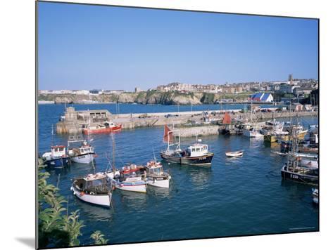 Harbour, Newquay, Cornwall, England, United Kingdom-Roy Rainford-Mounted Photographic Print