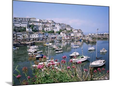 Brixham Harbour, Devon, England, United Kingdom-Roy Rainford-Mounted Photographic Print